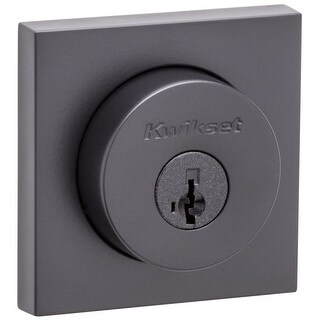 Kwikset 159SQT-S Halifax Double Cylinder Deadbolt with Smartkey Technology - N/A