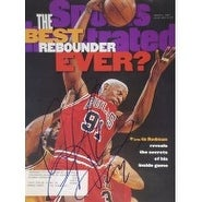 Signed Rodman Dennis Sports Illustrated Magazine Cover Only 30496 Issue autographed