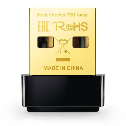 TP-Link AC600 Nano Wireless USB Adapter Archer T2U Nano Wi-Fi Adapter