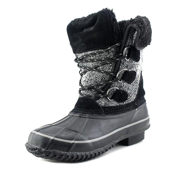 Khombu Maya Womens Black Snow Boots