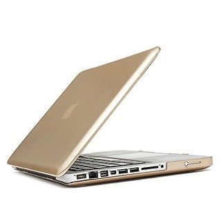 "AGPtek 3in1 Golden Hard Rubberized Case Keyboard Cover Screen Film for Mac book Pro 13""/13.3""(no Retina) A1278"