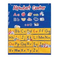 Learning Resources Alphabet Center Pocket Chart, 28 x 34 Inches
