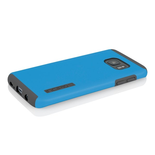 Incipio DualPro Impact-Absorbing Case for Samsung Galaxy S7 Edge - Blue/Gray