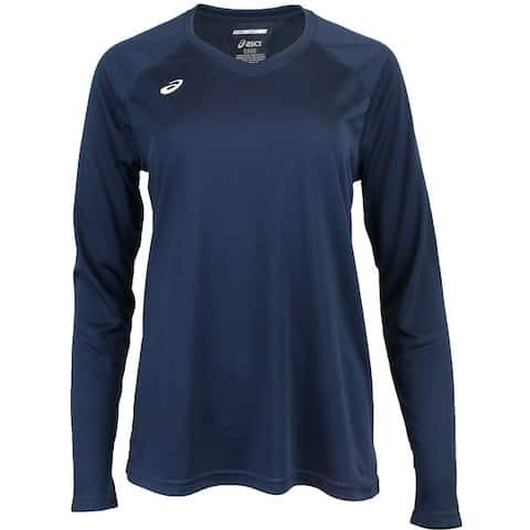 Asics Womens Circuit 8 Long Sleeve Tee Running Athletic T-Shirt