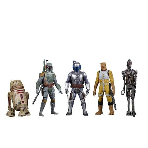 Star Wars Celebrate The Saga Toys Bounty Hunters Action Figure Set, 3.75-Inch-Scale Figures 5-Pack, Kids Ages 4 And Up