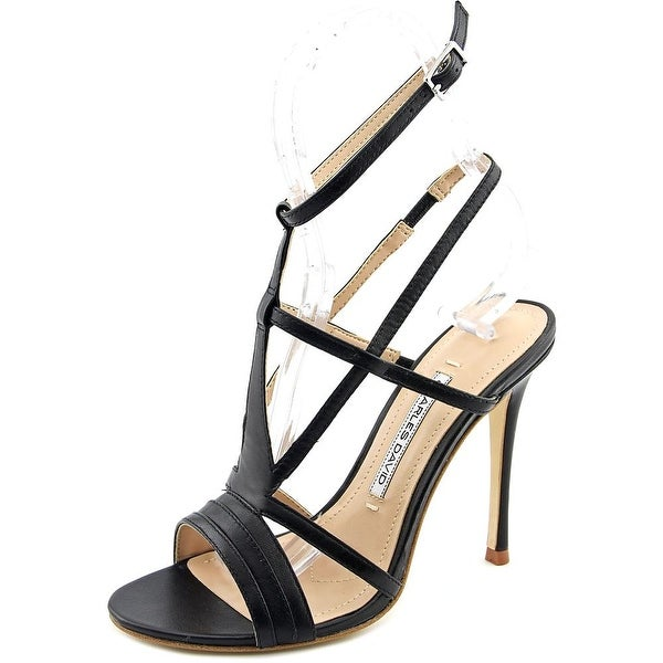 Charles David Onia Women Open Toe Leather Sandals