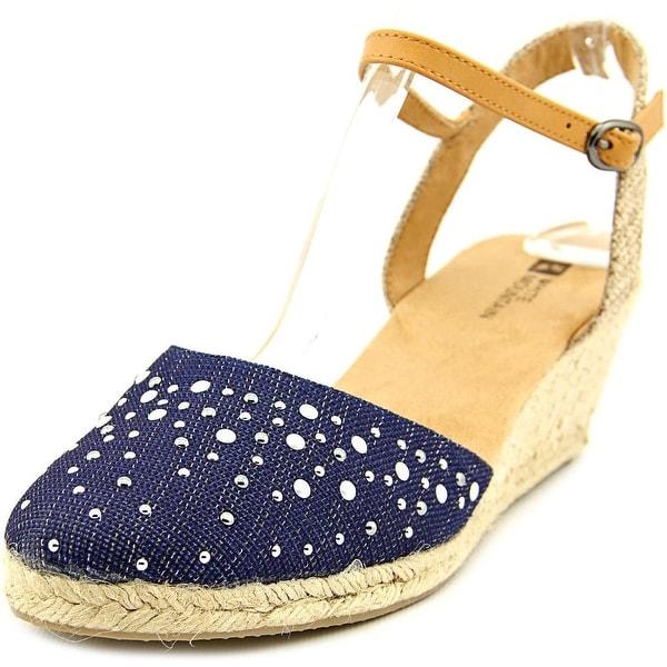 White Mountain Saltwater Women DkBlue Sandals