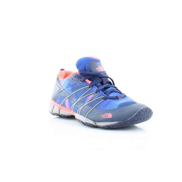 North Face Litewave Women's Athletic Patriot Blue Print/ Tropical Coral - 7.5