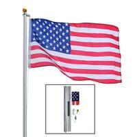 Heavy Duty Aluminum 20' Residential Flagpole Kit