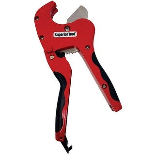 """Superior Tool 37118 1"""" PVC Ratcheting Cutter"""