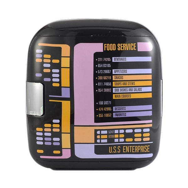 Star Trek The Next Generation Replicator TNG 7L Liter Thermoelectric Cooler Mini Fridge. Opens flyout.