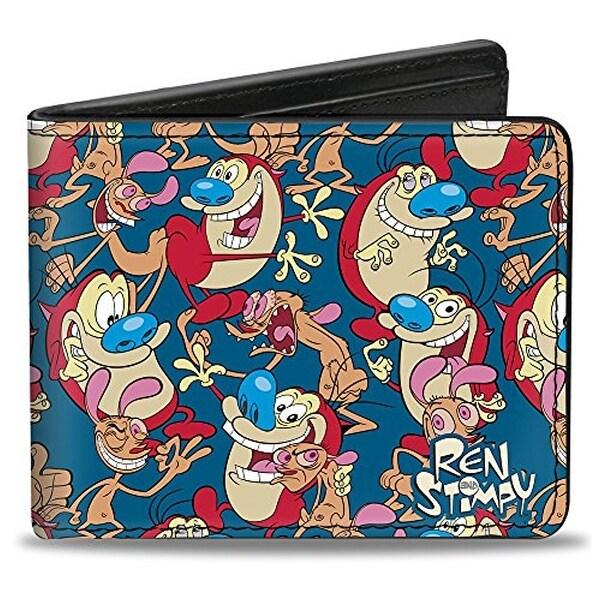 Buckle-Down Bifold Wallet Ren & Stimpy Show