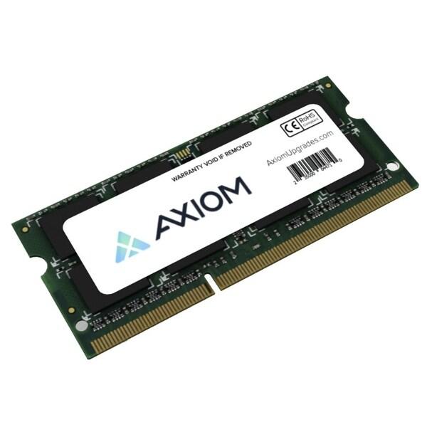Axion AX27693238/1 Axiom 2GB Module - 2 GB (1 x 2 GB) - DDR3 SDRAM - 1600 MHz DDR3-1600/PC3-12800 - Non-ECC - Unbuffered -
