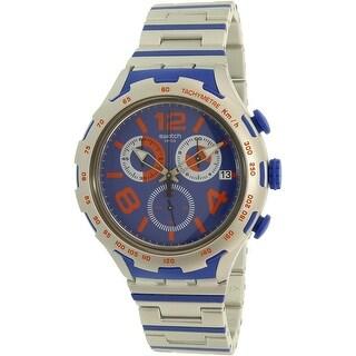 Swatch Men's Xlite YYS4011AG Blue Plastic Swiss Quartz Dress Watch