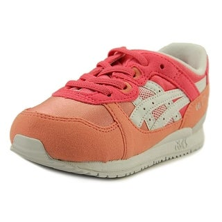 Asics Gel-Lyte III TS Toddler Round Toe Suede Orange Sneakers