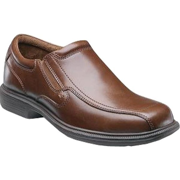 b50c86f4bc8b4 Shop Nunn Bush Men s Bleeker Street Cognac Leather - Free Shipping ...