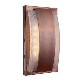 """Craftmade ICH1710 Illuminated 7"""" x 5"""" Recessed Door Chime with Seeded Artisan Gl - N/A"""