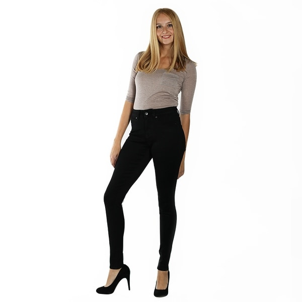 DISCONTINUED Lola High Rise Skinny, Alexa-BLK