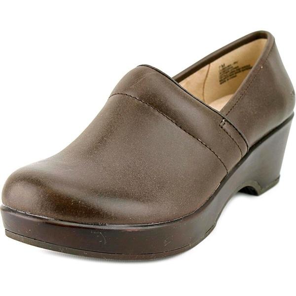 JBU by Jambu Cordoba Round Toe Leather Clogs