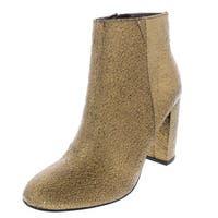 kensie Womens LEOPOLDA Almond Toe Ankle Fashion Boots