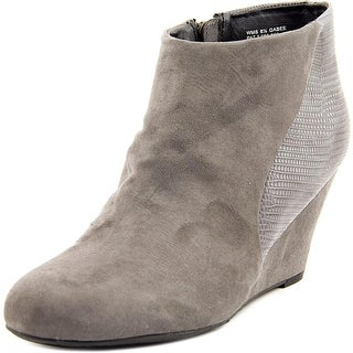 Report Gabee Women Round Toe Synthetic Ankle Boot
