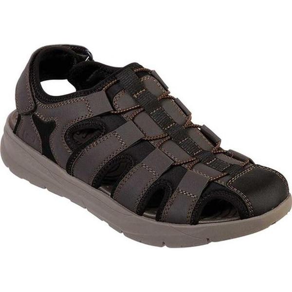 bdab93c2171 Skechers Men  x27 s Relaxed Fit Relone Henton Walking Sandal Chocolate