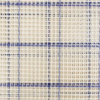 "24""X30"" Blue Checked - Zweigart Rug Canvas 24""X30"" 3.75 Mesh"
