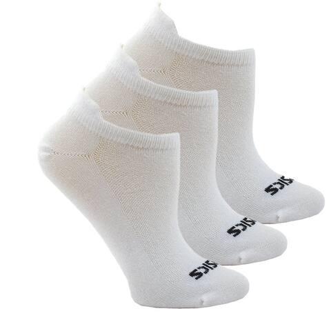 Asics Womens Xlt Low Cut 3-Pack Running Athletic Socks Socks