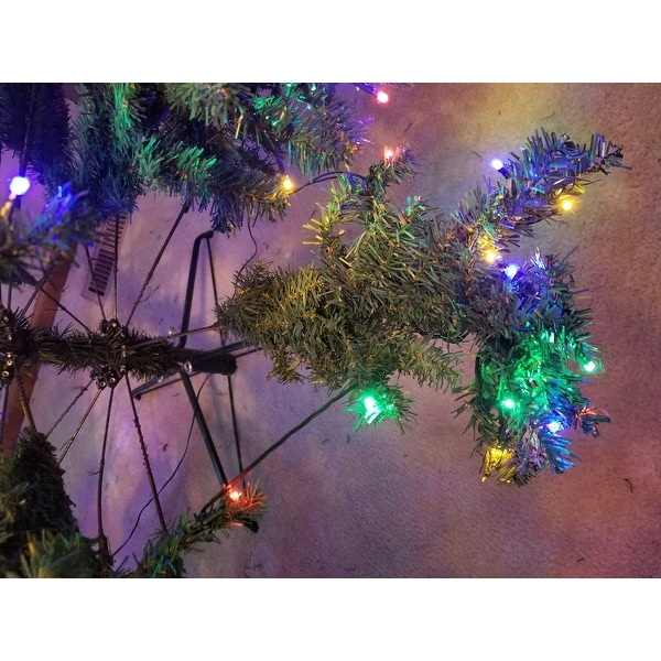 Shop Costway 9' Pre-Lit Artificial Christmas Tree Premium Hinged w/ 1000  LED Lights & Stand - green - Free Shipping Today - Overstock.com - 18231231 - Shop Costway 9' Pre-Lit Artificial Christmas Tree Premium Hinged W