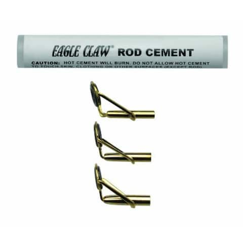 Eagle Claw 0848-3538 Rod Tip Repair Kit with Glue
