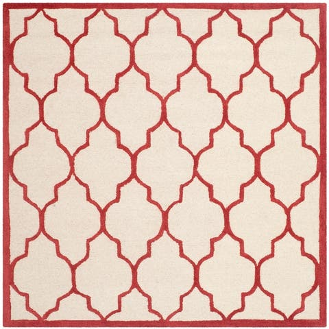 SAFAVIEH Handmade Cambridge Maybell Wool Modern Moroccan Rug