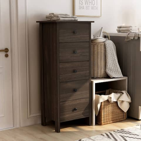 Furniture of America Marcello Contemporary 5-drawer Vertical Chest