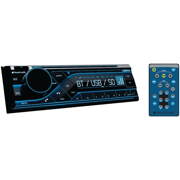 Planet Audio P385Uab Single-Din In-Dash Cd Am/Fm Receiver With Bluetooth(R)