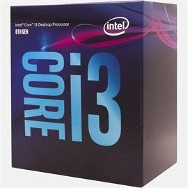 Intel CPU BX80684I38350K Core i3-8350K Boxed 8M Cache up to 4.0GHz Socket 1151 4 Cores/4 Threads Retail