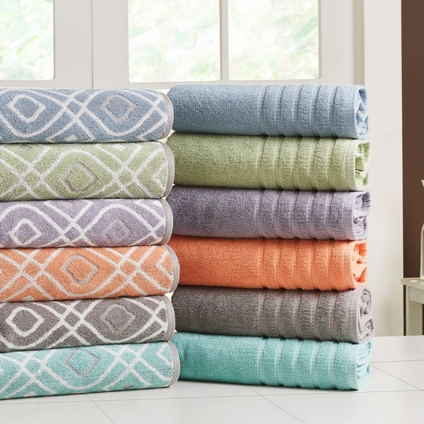 Modern Threads 6-Piece Yarn Dyed Oxford Towel Set. Opens flyout.