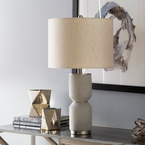 """Sumi 27 in. Gray Transitional Table Lamp - 27"""" H"""