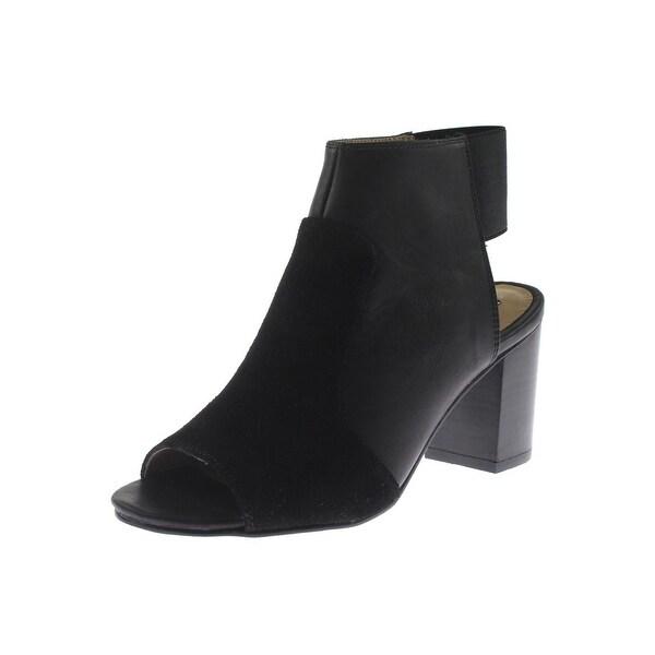 Kensie Womens Evanna Dress Sandals Leather Slingback