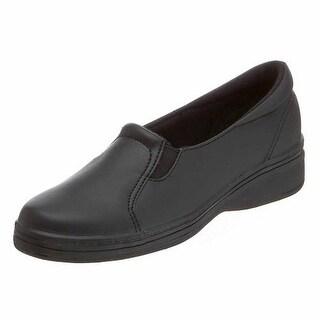 Grasshoppers Womens Jensen Faux Leather Slip On Loafers - 6 narrow (aa,n)