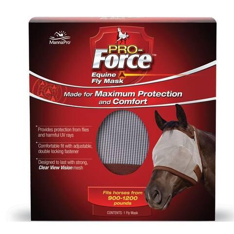 Manna Pro 202940 Pro-Force Mesh Horse Fly Mask
