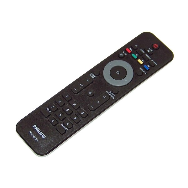 OEM Philips Remote Originally Shipped With: 40HFL5783D/F7, 32HFL5662L, 32HFL5662L/F7, 22HFL5662H, 22HFL5662H/F7