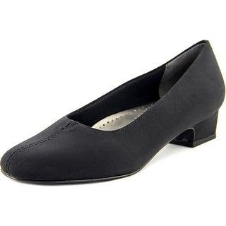 Trotters Doris Women N/S Square Toe Synthetic Black Heels