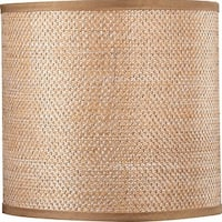"Volume Lighting V0020 10"" Height Drum Shade"