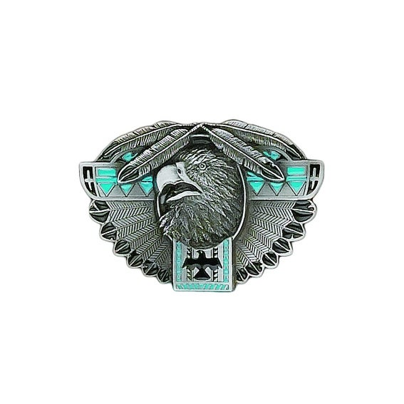 Thunderbird Totem Belt Buckle - One size