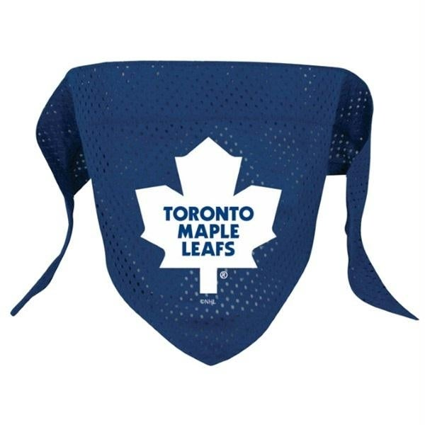 Shop Toronto Maple Leafs Pet Mesh Bandana - Small - Free Shipping On ... c0ac7d957