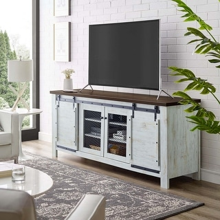 Bennington 70-inch Rustic Sliding Door Buffet Table Sideboard