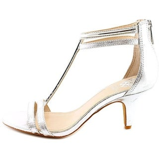 Vince Camuto Womens Mitzy Leather Open Toe Special Occasion T-Strap Sandals