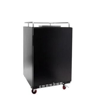EdgeStar BR7001 24 Inch Wide Kegerator Conversion Refrigerator for Full Size Kegs