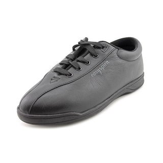 Easy Spirit Ap1 Women Round Toe Leather Black Walking Shoe