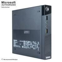 Lenovo M93P Tiny, Intel i7-4765T 2.0GHz, 16GB DDR3, 240GB SSD, WIFI, BT 4.0, HDMI, W10P64 (EN/ES)-Refurbished