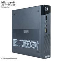 Lenovo ThinkCentre M93 Tiny Intel Core I7 4765T 2.0GHz, 8GB RAM, 320GB HDD, W10P(EN/ES)-1 Year Warranty(Refurbished)
